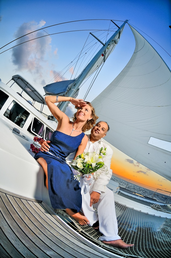 Wedding on Catamaran