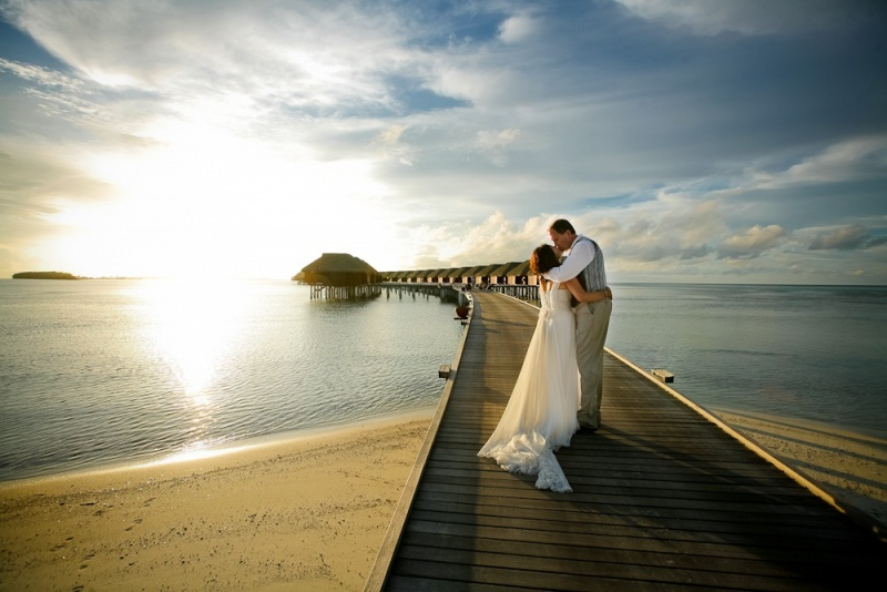 Wedding photographer in Maldives