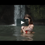 Video Love story A&T Tibumana waterfall. Bali