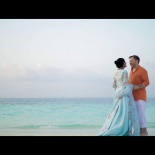 Sonia + James Maldives Beach Wedding by Ikebana Wedding and Events
