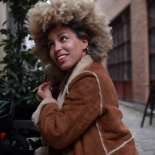Shooting an Afro girl in Brussels, Belgium