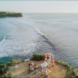 Bali Sunset Cliff Wedding Marilyn & Mathew