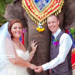 Wedding on Koh Samui, Thailand. Nathan and Stephanie.