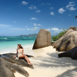 Photo shoot in Seychelles