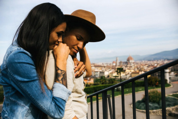 Romantic engagement in Florence, Italy, Laura Barbera photographer, #7853