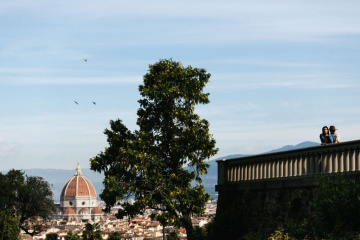 Romantic engagement in Florence, Italy, Laura Barbera photographer, #7863