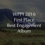 First place best elopement album in Iceland