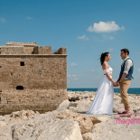 Wedding at Paphos Castle