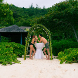 Alessia and Artur Seychelles honeymoon