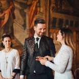Destination wedding in Rome & Tivoli