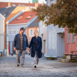 Love story of Eva and Luka in Trondheim