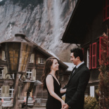 Swiss Alps Honeymoon photo session