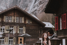 Swiss Alps Honeymoon Session