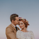 Edi & Raudo - boho wedding in Estonia