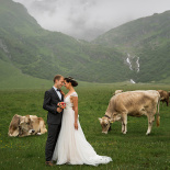 Wedding in Switzerland, Engelberg