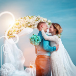 Luxury wedding abroad in Egypt, Red Sea, Hurghada.